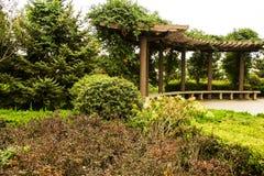 Ogrodowy korytarz Zdjęcia Stock