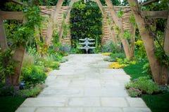 Ogrodowy krajobraz obrazy royalty free