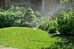 ogrodowy kropidło Zdjęcia Royalty Free