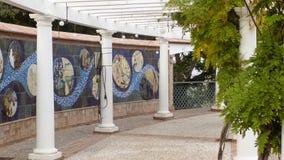 Ogrodowy kulturalny centrum Alhaurin De Los angeles Torre Malaga Zdjęcie Royalty Free