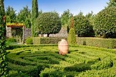 ogrodowy labirynt Zdjęcie Stock