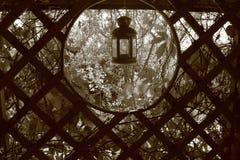 ogrodowy lampion Obrazy Royalty Free