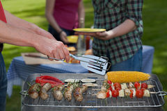 Ogrodowy lunch Fotografia Stock