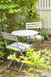 Ogrodowy miejsca siedzące teren Obrazy Royalty Free