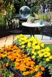 ogrodowy nowożytny Zdjęcia Royalty Free