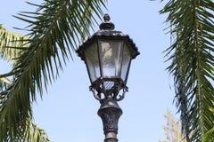 ogrodowy oświetlenie Fotografia Royalty Free