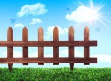 Ogrodowy ogrodzenie Fotografia Stock