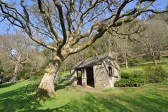 Ogrodowy outhouse Fotografia Stock