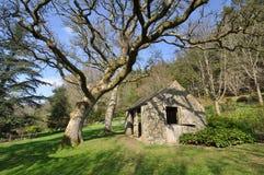 Ogrodowy outhouse Zdjęcie Stock