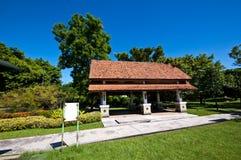 ogrodowy pawilon obraz royalty free