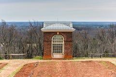 Ogrodowy pawilon - Monticello zdjęcia stock