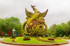 Ogrodowy projekt Zdjęcia Royalty Free