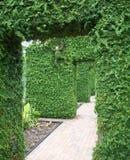 Ogrodowy przejście Obraz Royalty Free