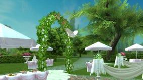 Ogrodowy przyjęcie