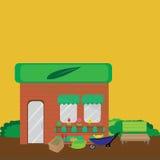 Ogrodowy sklep Fotografia Stock