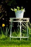 ogrodowy stół Obraz Stock