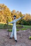 ogrodowy strach na wróble fotografia royalty free