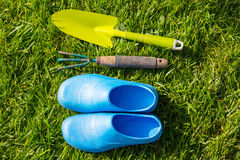 Ogrodowy tool Fotografia Royalty Free