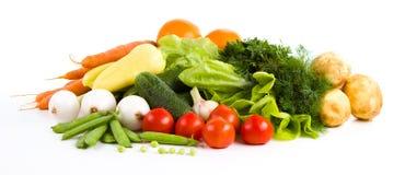 Ogrodowy warzywo odizolowywający nad bielem obraz royalty free