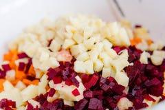 ogrodowy warzywo rżnięci warzywa zdrowa żywność Robić jedzenie zdjęcie royalty free