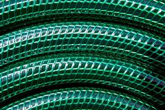 ogrodowy zamknięty ogrodowy wąż elastyczny Fotografia Stock