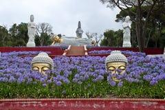 ogrodowy zen Fotografia Royalty Free