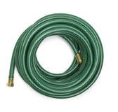 ogrodowy zielony wąż elastyczny Obrazy Stock