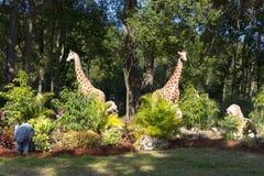 Ogrodowy zwierząt Pasać Zdjęcia Royalty Free