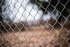 ogrodzenie łańcuszkowy link Zdjęcie Royalty Free