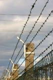 ogrodzenie drut zdjęcie stock
