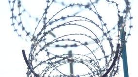 ogrodzenie drut Więzienia ogrodzenie zdjęcie wideo