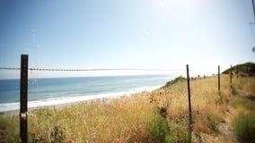 Ogrodzenie i ocean zdjęcie wideo