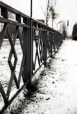 ogrodzenie metal Zdjęcie Stock