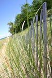 ogrodzenie na plaży Fotografia Stock