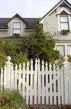 ogrodzenie palik wejścia Zdjęcie Royalty Free