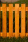 Ogrodzenie robić na drewnie Fotografia Stock