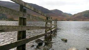 Ogrodzenie w jeziorze Zdjęcie Stock