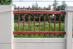 Ogrodzenie z naturą Zdjęcia Stock