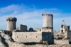 Ogrodzieniec castle Stock Images