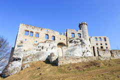 Ogrodzieniec Castle, Poland. Royalty Free Stock Photography