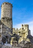 Ogrodzieniec medieval castle in Poland Royalty Free Stock Photos
