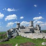 Ogrodzieniec. Poland. Royalty Free Stock Images