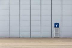 Ogromna brama hangar Zdjęcia Stock