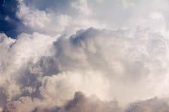 Ogromna cumulus chmura Fotografia Stock