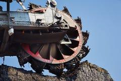 Ogromna górnicza maszyna Fotografia Royalty Free