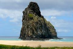 ogromna skała formacji Obrazy Royalty Free