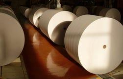 ogromne papierowe rolki Obraz Stock
