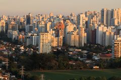 Ogromni budynki, Sao Paulo Obraz Royalty Free
