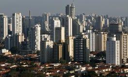 Ogromni budynki, Sao Paulo Fotografia Stock