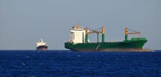 ogromny ładunku statek Obrazy Royalty Free